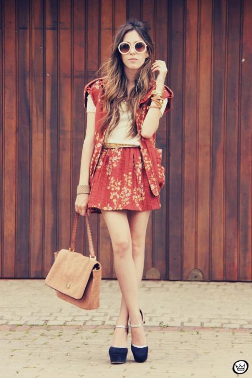 FashionCoolture Catarina a Porter Vish conjuntinho estampado Bruna Starling  (1)