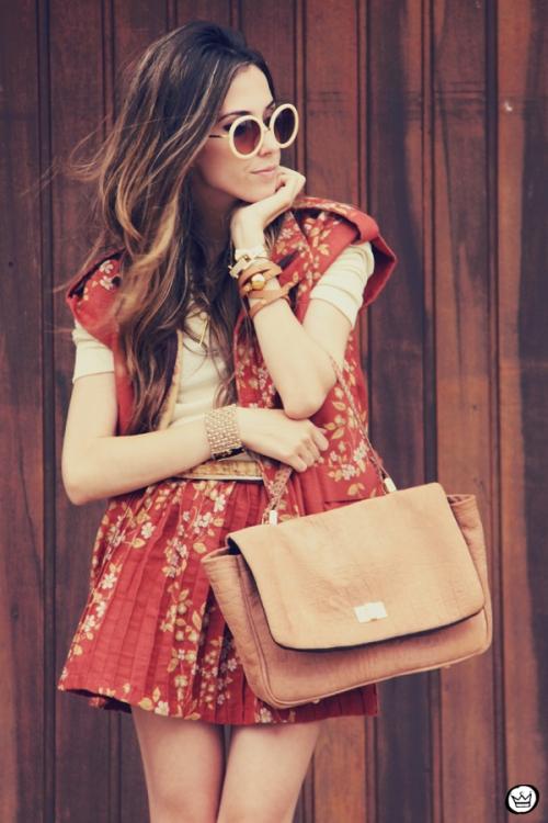 FashionCoolture Catarina a Porter Vish conjuntinho estampado Bruna Starling  (2)