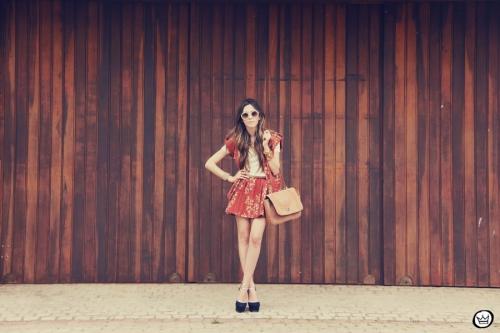 FashionCoolture Catarina a Porter Vish conjuntinho estampado Bruna Starling  (3)