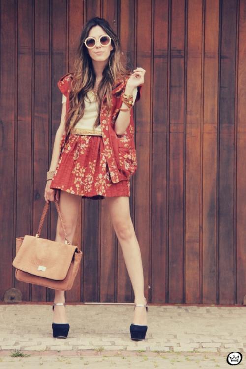FashionCoolture Catarina a Porter Vish conjuntinho estampado Bruna Starling  (4)