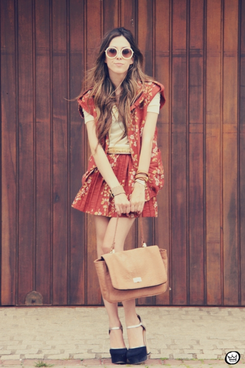 FashionCoolture Catarina a Porter Vish conjuntinho estampado Bruna Starling  (8)