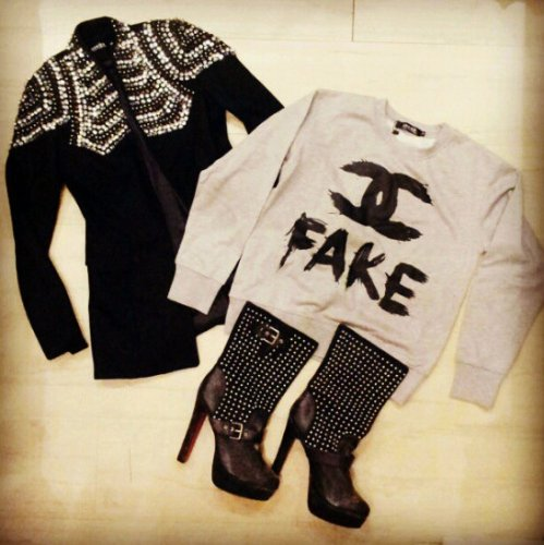 FashionCoolture - Instagram photos pieces clothes online stores Choies Chanel fake blazer (2)