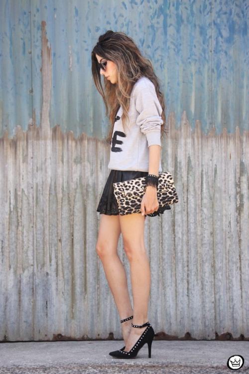 FashionCoolture - 24.02.2013 look du jour Choies Chanel jumper fake Asos studded (4)