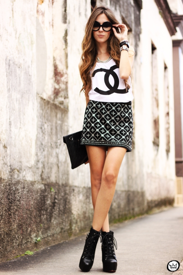 FashionCoolture - 29.03 Choies beaded lita SheINside jacket t-shirt spikes chanel (4)