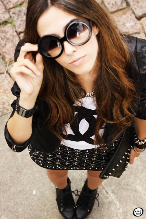 FashionCoolture - 29.03 Choies beaded lita SheINside jacket t-shirt spikes chanel (9)