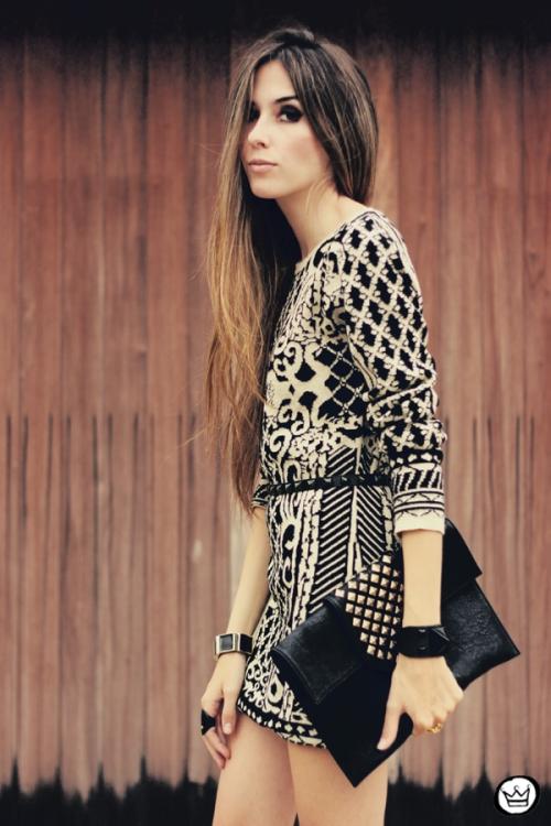 FashionCoolture - 29.04.2013 look du jour Romwe  dress barroque Schutz (2)