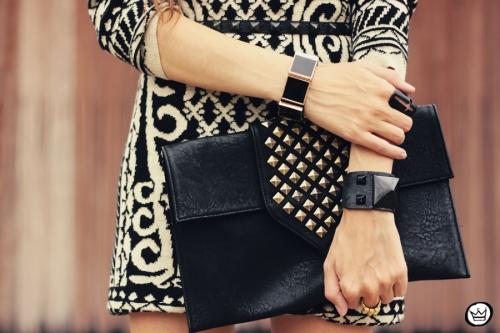FashionCoolture - 29.04.2013 look du jour Romwe  dress barroque Schutz (3)