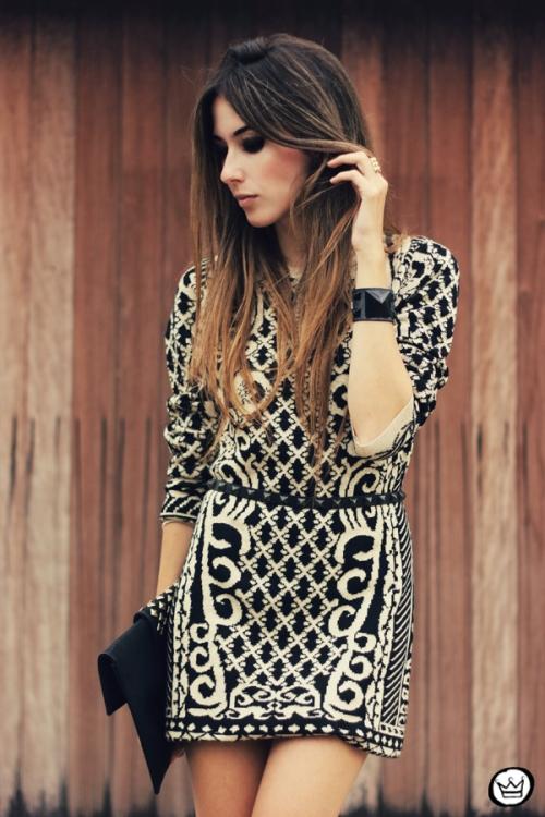 FashionCoolture - 29.04.2013 look du jour Romwe  dress barroque Schutz (6)