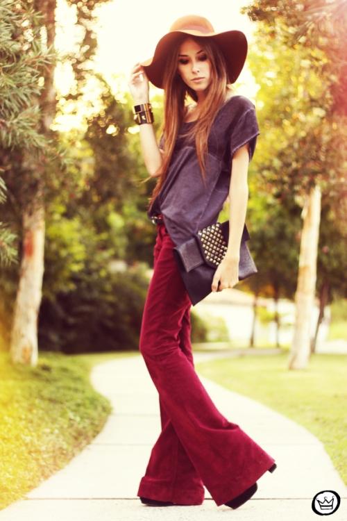 FashionCoolture - 05.05.2013 look du jour salsa jeans flare Nasty Gal Asos (4).