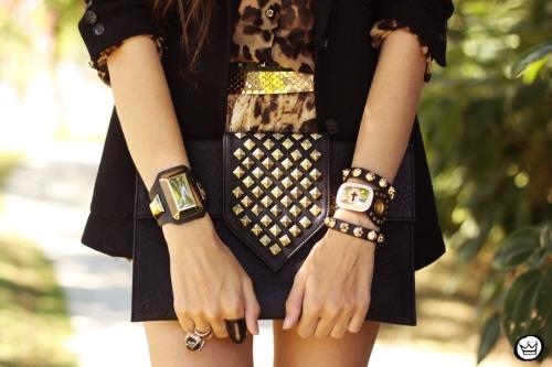 FashionCoolture - 08.05.2013 look du jour Kafé braceletes acessórios leopard mix  (3)