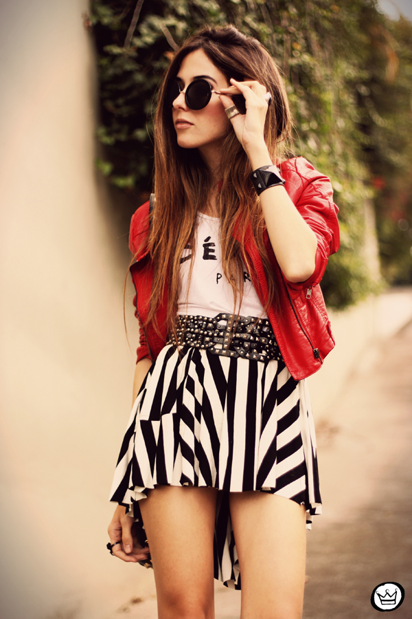 FashionCoolture - 28.05.2013 look du jour MiniMinou stripes Romwe jacket tshirt (5)