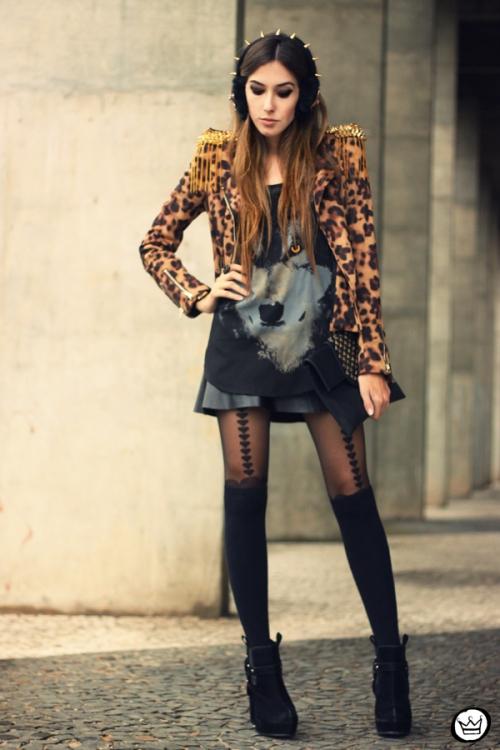 FashionCoolture - 02.06.2013 look du jour Sophiscat leopard Aremo (1)