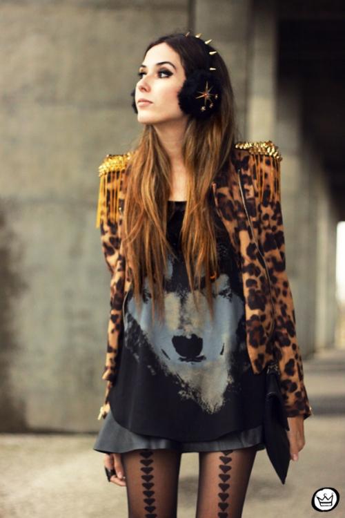 FashionCoolture - 02.06.2013 look du jour Sophiscat leopard Aremo (2)