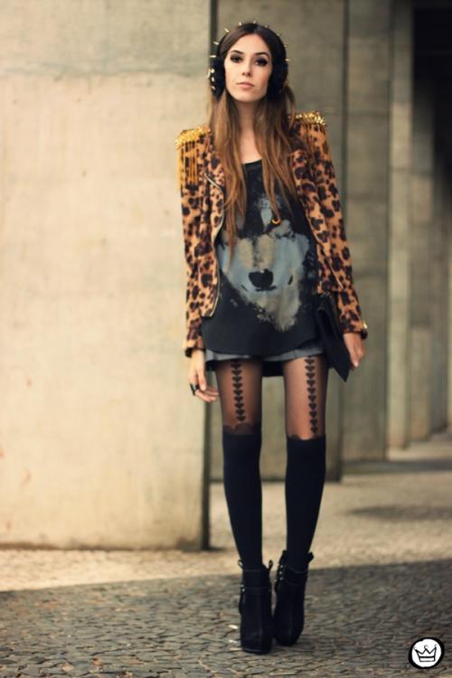 FashionCoolture - 02.06.2013 look du jour Sophiscat leopard Aremo (4)