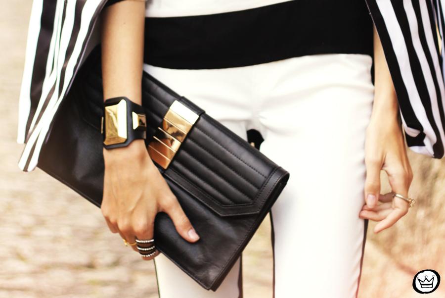 FashionCoolture - 11.06.2013 look du jour Labellamafia legging stripes Romwe Asos (5)