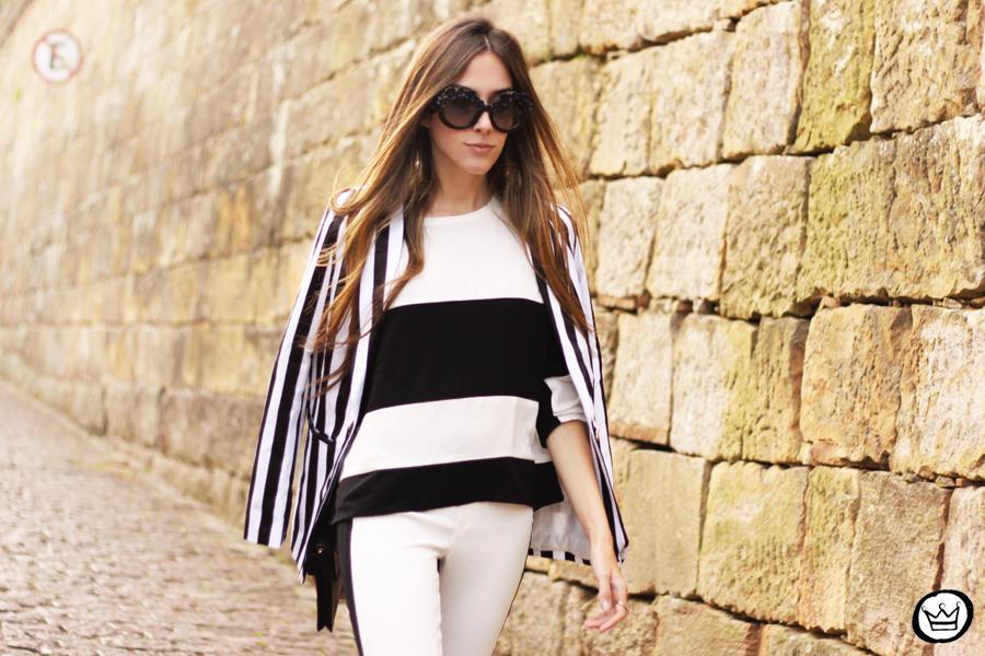 FashionCoolture - 11.06.2013 look du jour Labellamafia legging stripes Romwe Asos (6)