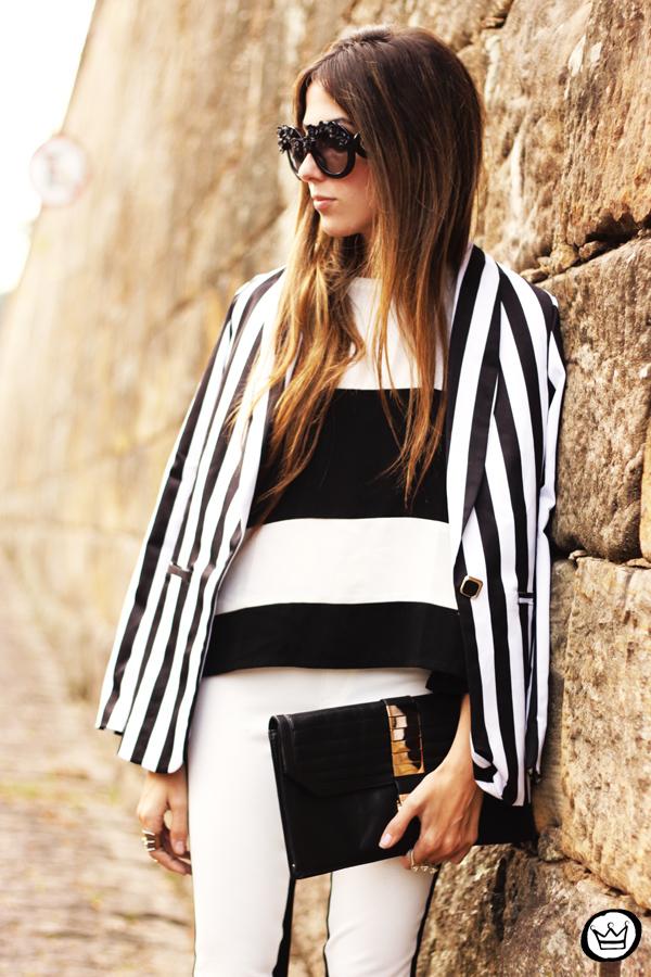 FashionCoolture - 11.06.2013 look du jour Labellamafia legging stripes Romwe Asos (7)