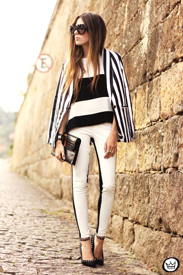 FashionCoolture - 11.06.2013 look du jour Labellamafia legging stripes Romwe Asos (8)