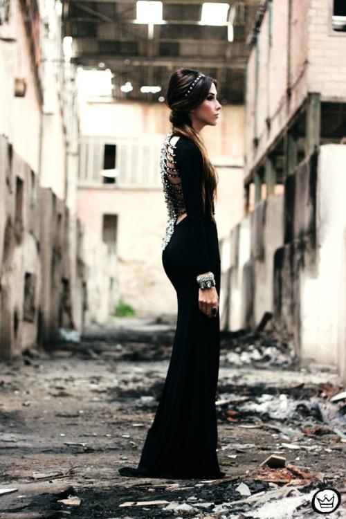 FashionCoolture - 23.06.2013 look du jour black dress (1)