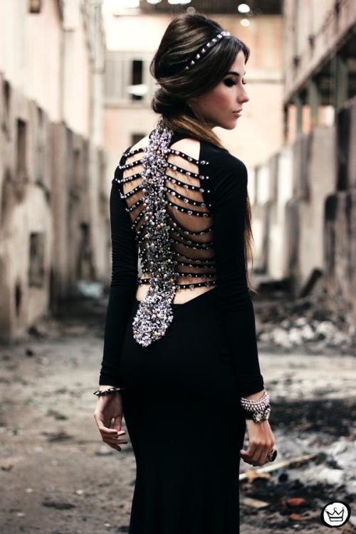 FashionCoolture - 23.06.2013 look du jour black dress (2)