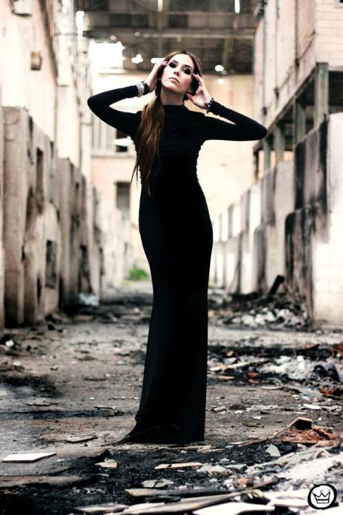 FashionCoolture - 23.06.2013 look du jour black dress (3)