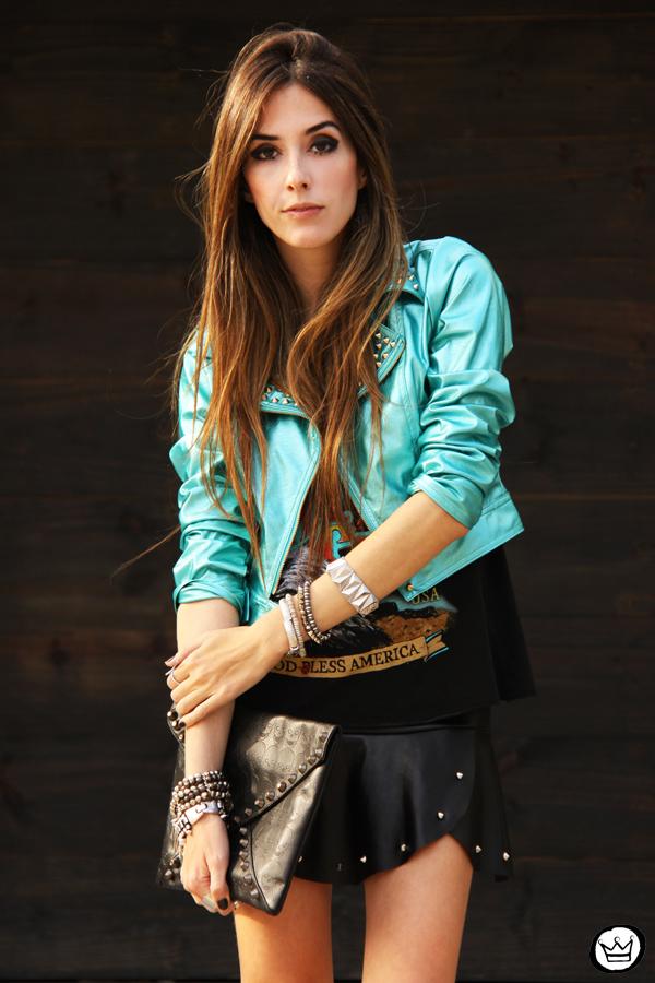... jour Labellamafia jacket spikes (5)FashionCoolture - 25.06.2013 look du  jour Labellamafia jacket spikes (6)FashionCoolture - 25.06.2013 look du jour  ... 75d239a2b89