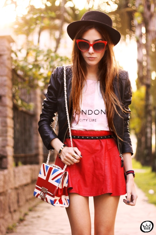 FashionCoolture - 27.06.2013 look du jour Awwdore leather red outfit (2)