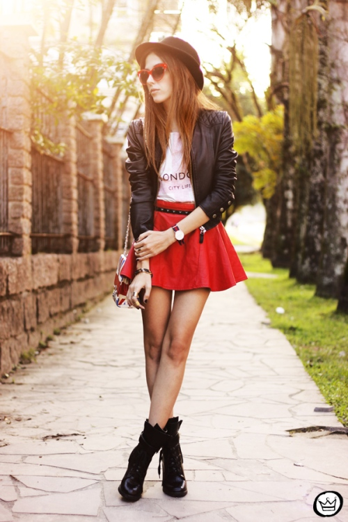 FashionCoolture - 27.06.2013 look du jour Awwdore leather red outfit (6)