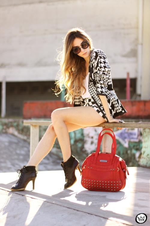 FashionCoolture - 06.07.2013 look du jour Le Charme black & white YOU K (1)