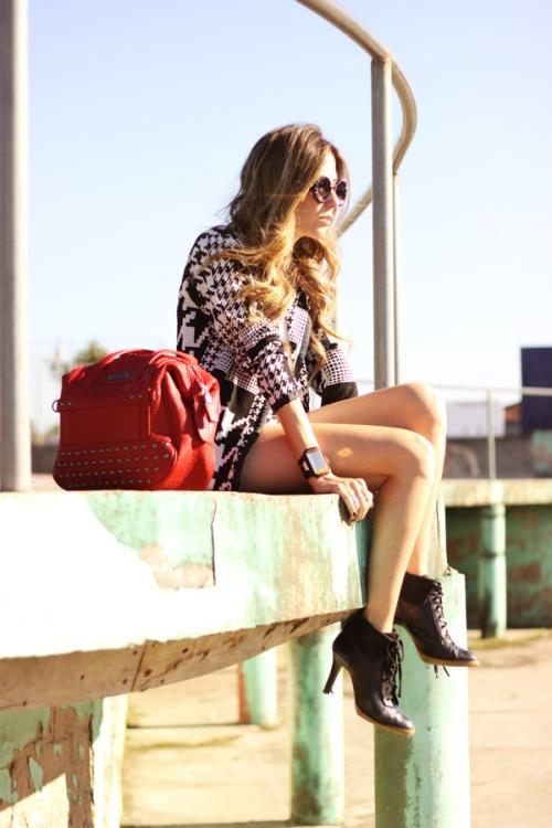 FashionCoolture - 06.07.2013 look du jour Le Charme black & white YOU K (4)