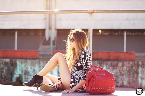 FashionCoolture - 06.07.2013 look du jour Le Charme black & white YOU K (7)
