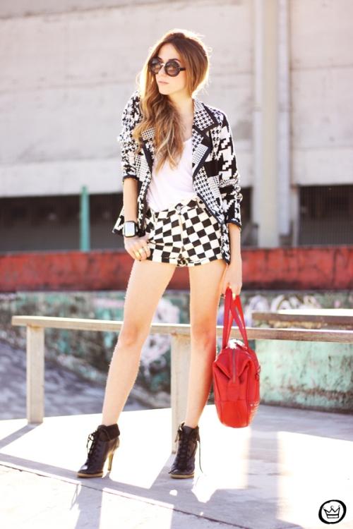 FashionCoolture - 06.07.2013 look du jour Le Charme black & white YOU K (8)