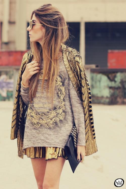 FashionCoolture - 10.07.213 look du jour Xiquita Bakana gold metallic (2)