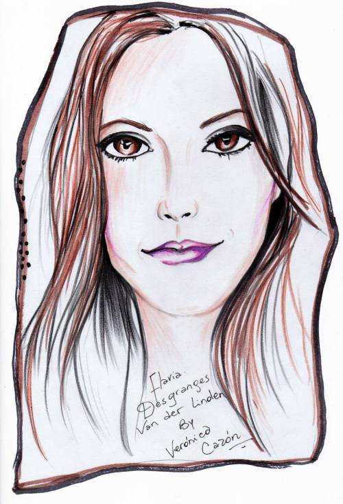 FashionCoolture drawing Veronica Cazon