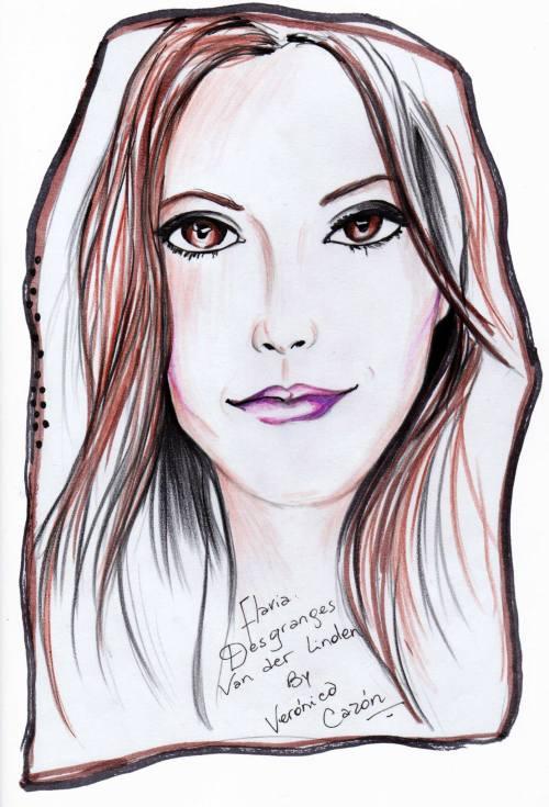 FashionCoolture drawing Veronica Cazon