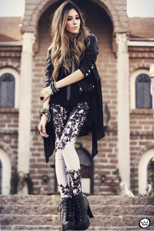 FashionCoolture - 07.08.2013 look du jour LovelySally legging Romwe(1)