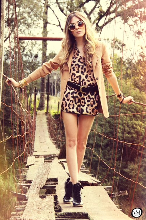 FashionCoolture - 09.08.2013 look du jour Studio 21 leopard  animal print (1)