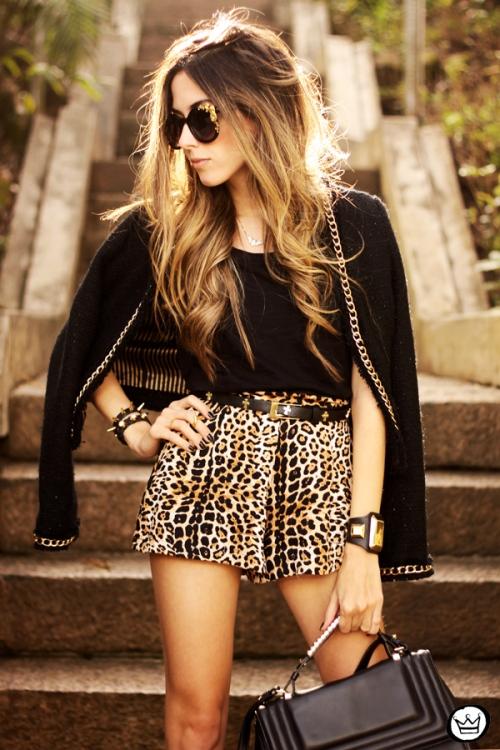 FashionCoolture - 23.08.2013 look du jour Chamelle leopard golden (2)