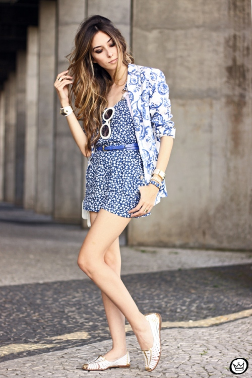 FashionCoolture - 08.09.2013 look du jour Motel Rocks Vateno playsuit blazer (4)