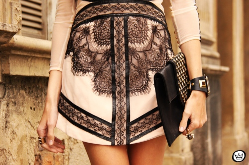 FashionCoolture - 23.09.2013 look du jour lace dress Choies (6)