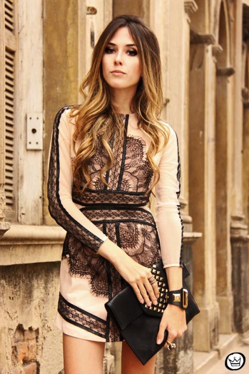 FashionCoolture - 23.09.2013 look du jour lace dress Choies (7)