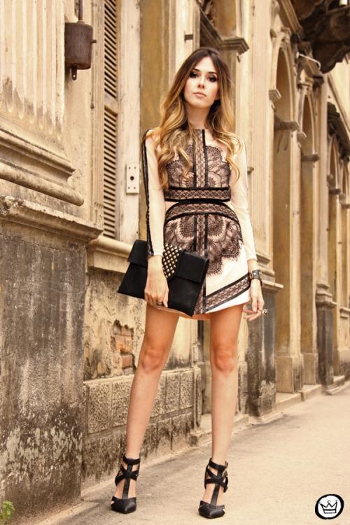 FashionCoolture - 23.09.2013 look du jour lace dress Choies (8)