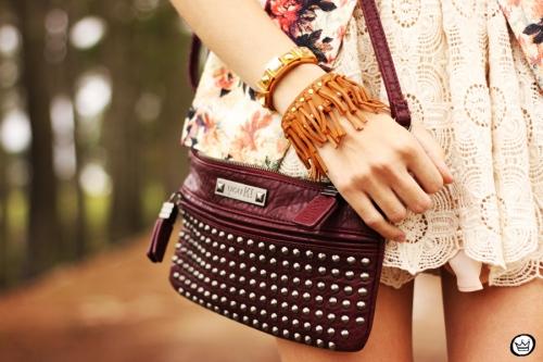 FashionCoolture - 24.09.2013 look du jour Vateno floral blazer (3)