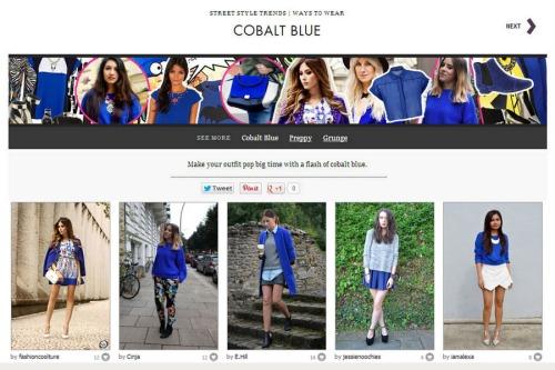 FashionCoolture Cobalt blue fashion finder (2)