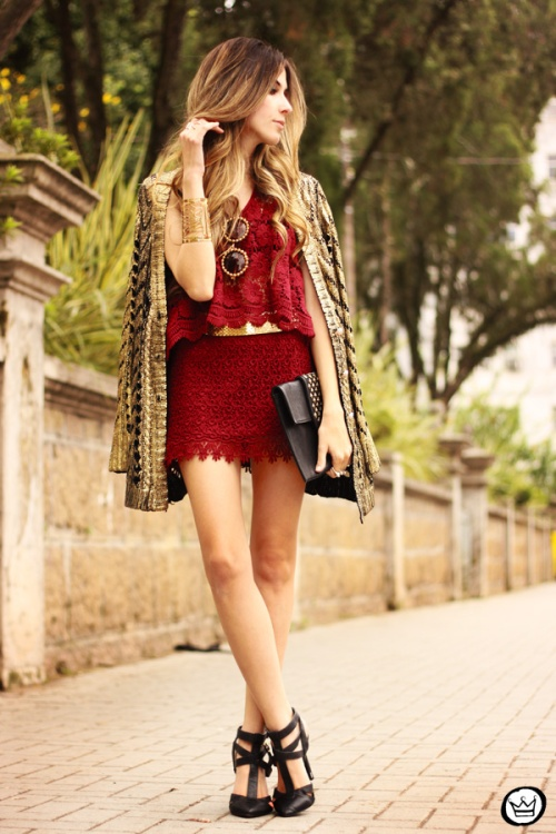 FashionCoolture - 03.10.2013 look du jour Yes Candy Store burgundy renda (1)