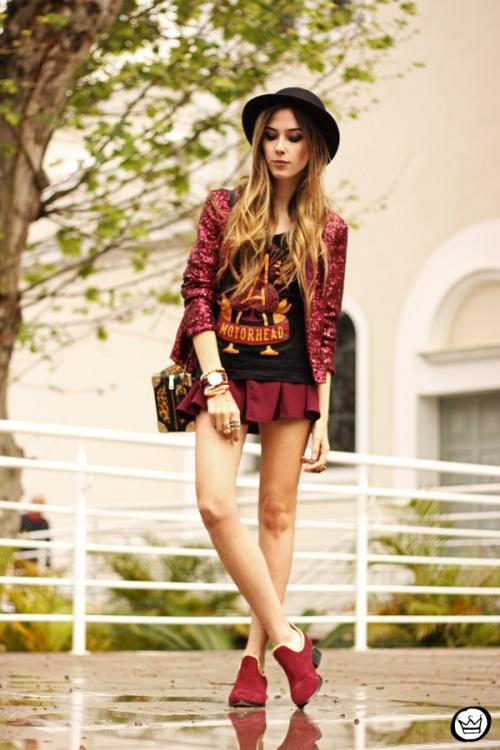 FashionCoolture - 05.10.2013 look du jour Choies sequins Chico Rei t-shirt (1)