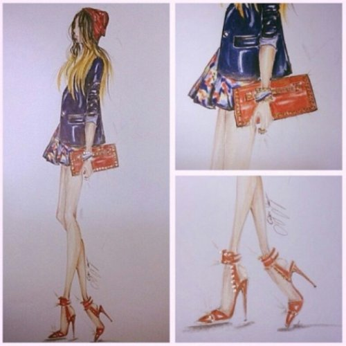 FashionCoolture drawing .