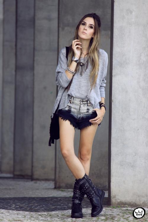 FashionCoolture - 29.04.2014 Cravo & Canela - boots studded rocker (7)