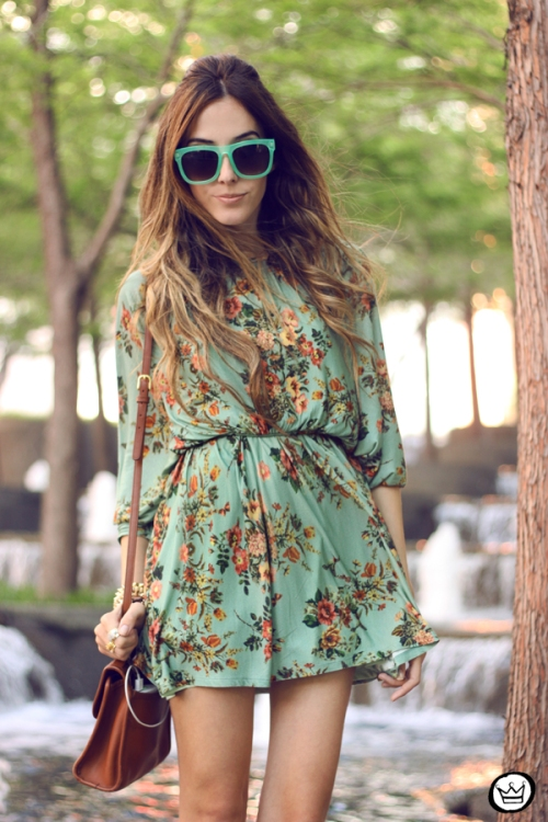 FashionCoolture - 30.04.2014 look du jour Antix floral dress  (4)