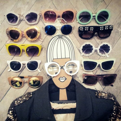 FashionCoolture Instagram sunglasses
